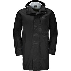 Jack Wolfskin Crosstown Raincoat Herren black